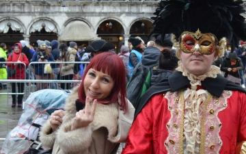 Kurzbesuch in Venedig zum Karneval_39